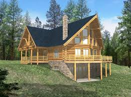 log cabin style house plans cabin house plans small mountain lakefront house plans 21166