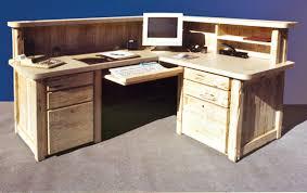 Corner Computer Table Reception Desk Corner Computer Station Custom Office Furniture