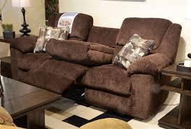transformer 2 piece reclining sofa set in beige fabric by
