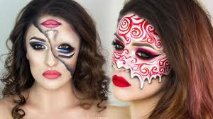 how to do halloween makeup amazing and easy halloween makeup tutorials compilation 2017