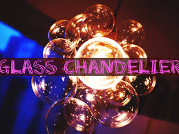 Glass Balls Chandelier Diy Chic Glass Chandelier Youtube