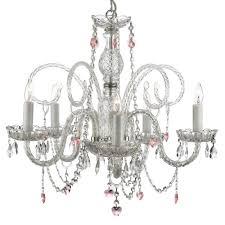 harrison lane 5 light crystal chandelier versailles 5 light crystal chandelier by harrison lane chandelier