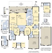 single family homes floor plans pulte house plans somerset the plantation fort myers jamison ii