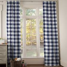 Red And White Buffalo Check Curtains Drapes And Curtains Coordinating Drape Panels Carousel Designs