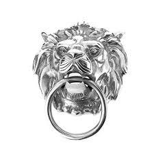 silver lion ring holder images Lion 39 s head towel holder orchid designs ltd trading as at home jpg