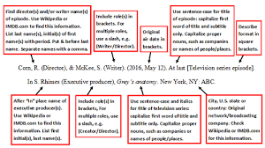 apa format movie titles apa style uses sentence case capitalization for movie titles in