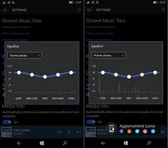 groove music visualizer is reportedly coming to windows 10 mobile
