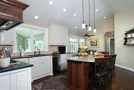 pendant lighting over kitchen island copper pendant lights above