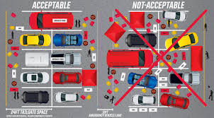 parking tailgating chiefs