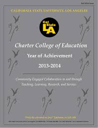 charter college of education california state university