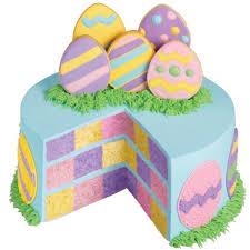 pastel pastures checkerboard cake wilton
