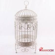 produttori gabbie per uccelli gabbia per uccelli decorativa tonda metallo ferro bianco avorio