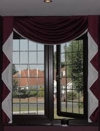 Black Window Valance Decoration Jabot Curtains For Vintage And Romantic Look Will Make
