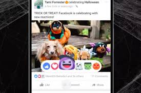 facebook u0027s adorable halloween reaction emoji are adding ghosts