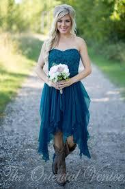 country short bridesmaid dresses 2017 cheap teal chiffon summer
