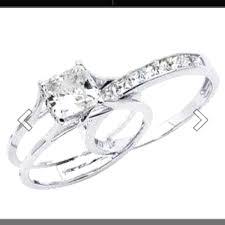 interlocking engagement ring wedding band wedding rings interlocking wedding ring sets