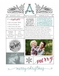 year in review christmas card business infographic year in review newsletter template by
