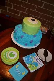 monsters inc baby shower cake s inc baby shower party ideas photo 8 of 27 catch my party