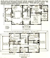 Colonial Floor Plans Nine Room Colonial Sears Modern Homes