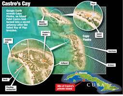 Cuban Map Inside Fidel Castro U0027s Luxurious Life On His Secret Island Getaway