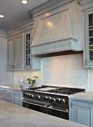 white kitchen with distressed cabinets gray distressed cabinets design ideas