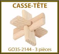 chaise cass e casse tête en bois personnalisés collection gova produits