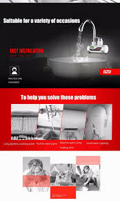 instant tankless electric hot water heater with led digital instant tankless electric hot water heater with led digital display electric water heater for home faucet
