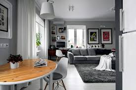 Small Apartment In A Scandinavian Style Of Life And Decoration - European apartment design
