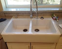 Ikea Farmhouse Kitchen Sink A Domsjo Kitchen Sink In California Ikea Hackers