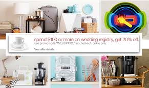 only wedding registry target wedding registry spend 100 on registry items online only