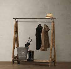 2017 american wood to do the old vintage clothing display rack