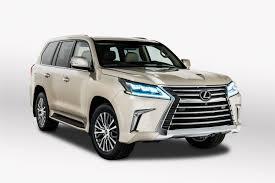 toyota lexus 570 2017 2018 lexus lx 570 offers 2 row option for more cargo roadshow
