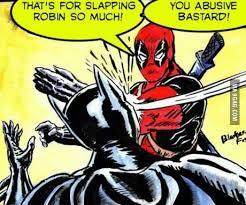 Batman Slapping Robin Meme - does anybody remember the batman slapping robin meme here s karma