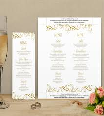 Diy Wedding Menu Cards Menu Template U2013 27 Free Psd Eps Ai Indesign Word Pdf
