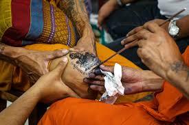 possessed by tattoos sak yant wai kru festival u2022 expert vagabond