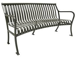 Curved Bench With Back Product Details Site Furniture Keystone Ridge Designs