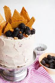 honeycomb edible blackberry lavender honeycomb cake is the dessert your summer