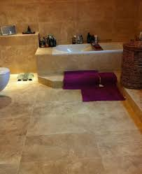 travertine tile in bathroom travertine bathroom for a long