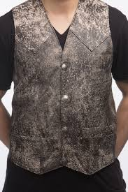 leather vest men u0027s western vest tribe america leathers
