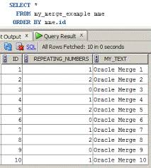 Create Table In Oracle How To Use Oracle Merge Statement