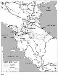 Map Northern Italy by Us Army Ts Engineers 3 War With Germany Chapter 11 Engineers In