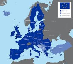 european countries on a map map showing european countries all world maps