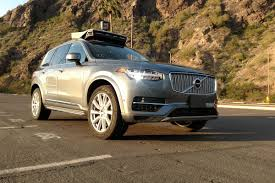 one of uber u0027s self driving cars just crashed in arizona the verge