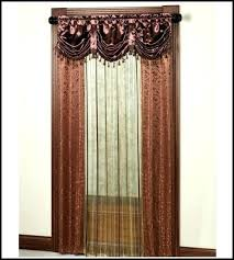 Priscilla Curtains With Attached Valance Curtains With Valances Attached Lace Curtains With Attached