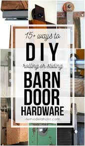 sliding barn door hardware for cabinets best cabinet decoration budget friendly and inexpensive methods for making your own rolling or sliding barn door hardware