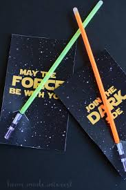 wars party favors light saber party favors home made interest