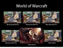 World Of Warcraft Meme - world of warcraft what my friends think i do weknowmemes