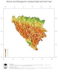 Bosnia Map Map Bosnia And Herzegovina Ginkgomaps Continent Europe Region