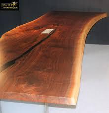Live Edge Boardroom Table Live Edge View Single Black Walnut Slab Conference Table 2 Jh