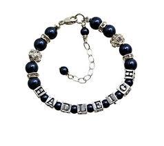 baby bracelets personalized jewelry swarovski baby bracelets